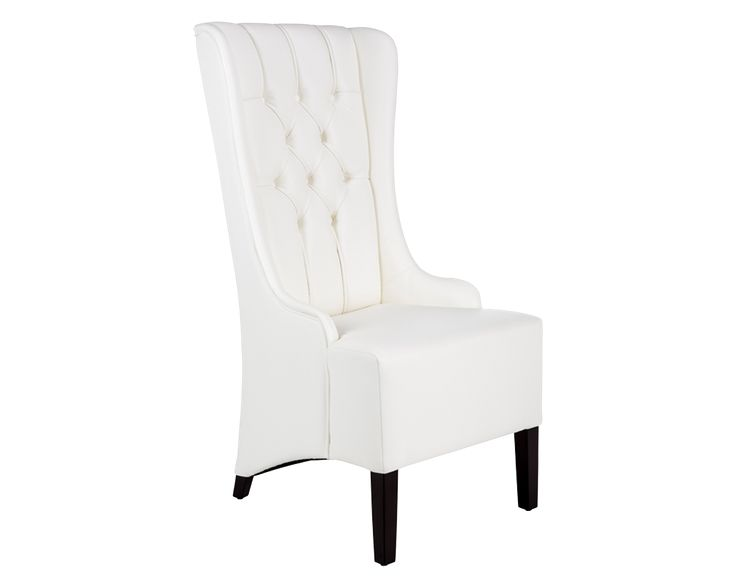 Mer Enn 25 Bra Ideer Om White Leather Dining Chairs På Pinterest Delectable White Leather Dining Room Chairs Sale Decorating Inspiration