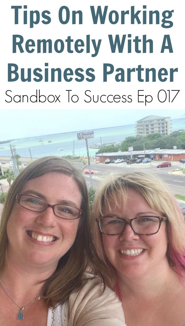 How to start a business with someone who does not live close to you! We'll share tips and tricks we've learned over the last three years working remotely.