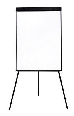 Quadro Branco Tripé Magnético 60x90cm Flip Chart RVaz ( Cavalete / Conferência )