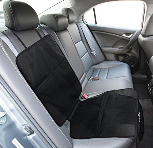 Baby Car Seat Protector To Save Ruining Your Leather Seats http://www.amazon.com/Car-Seat-Protector-Mat-Anti-Slip/dp/B00OW6652K/ref=sr_1_97?ie=UTF8&qid=1421481817&sr=8-97&keywords=car+seat+protector