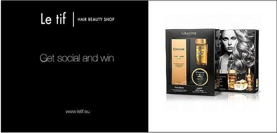 ΚΑΙΝΟΥΡΓΙΟΣ ΔΙΑΓΩΝΙΣΜΟΣ ΑΠΟ ΤΟ LE TIF HAIR BEAUTY SHOP ! Δώρο: Κερδίστε 1 Elixir Ultime Travel Pack που περιέχει 1 Kerastase Ultime 125ml για όλους τους τύπους μαλλιών, 1 Masque Elixir 75ml και 1 Bain Elixir 80ml! https://www.facebook.com/LeTifHairAndNails?ref=hl#!/photo.php?fbid=359905214113309=a.296006420503189.57016.232979733472525=1://www.facebook.com/LeTifHairAndNails?ref=hl#!/photo.php?fbid=359905214113309=a.296006420503189.57016.232979733472525=1