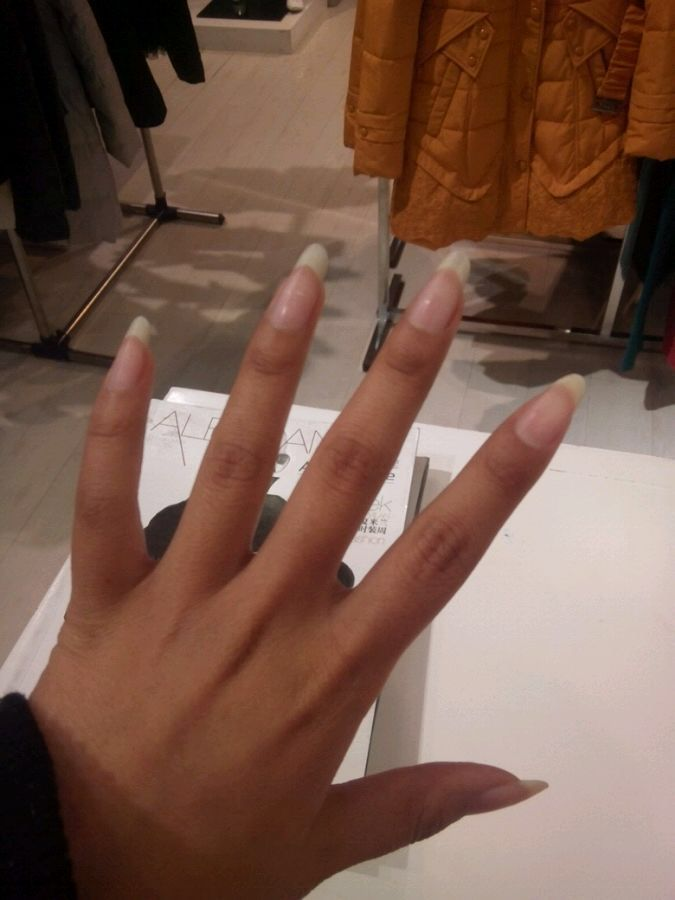 189 best LONG PRETTY NATURAL NAILS images on Pinterest ...