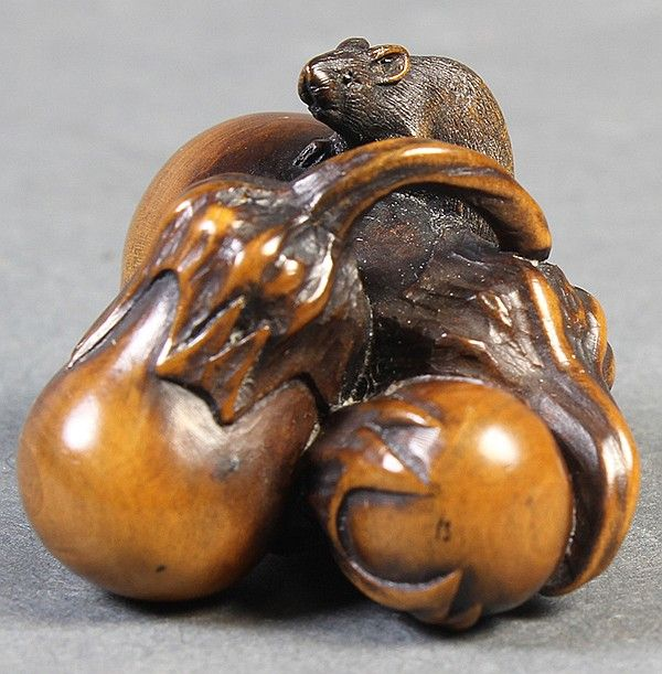 Buy online, view images and see past prices for Japanese Wooden Netsuke Eggplant 19c. Invaluable is the world's largest marketplace for art, antiques, and collectibles.