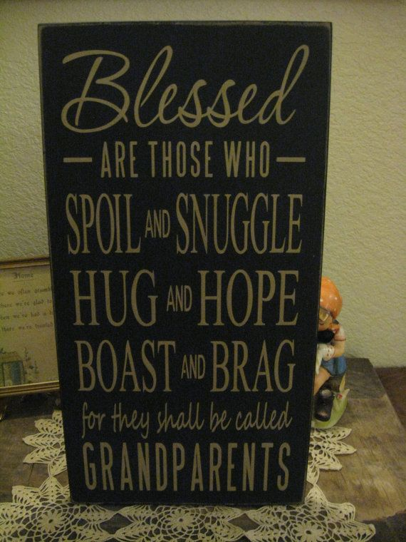 Primitive Country Farmhouse Style Sign Blessed Are those on Etsy, $19.99