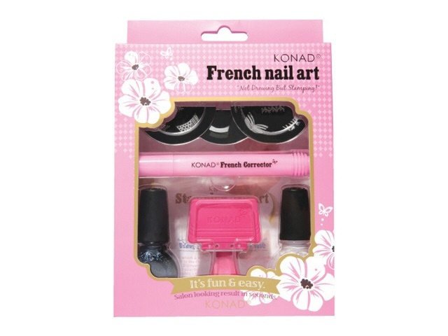 25 unique konad stamping ideas on pinterest nail stamping konad stamping french nail art set prinsesfo Gallery