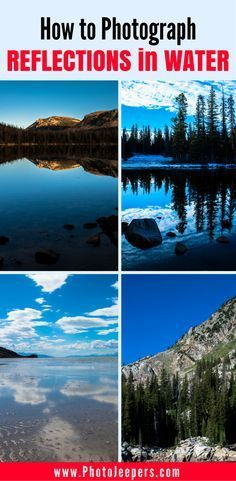 Water reflection shots can be tricky, but if you do it right, they are breathtak...
