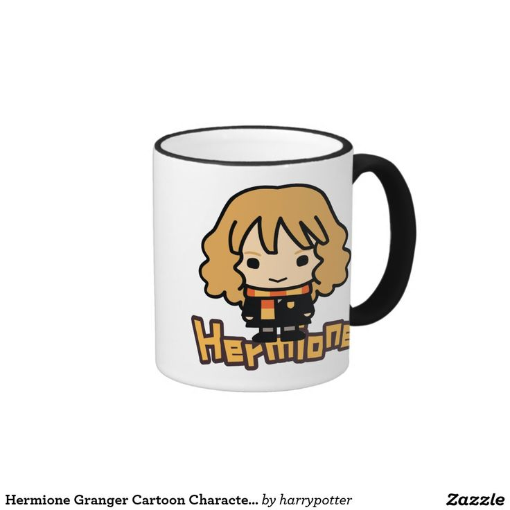 Hermione Granger Cartoon Character Art. Regalos, Gifts. #taza #mug