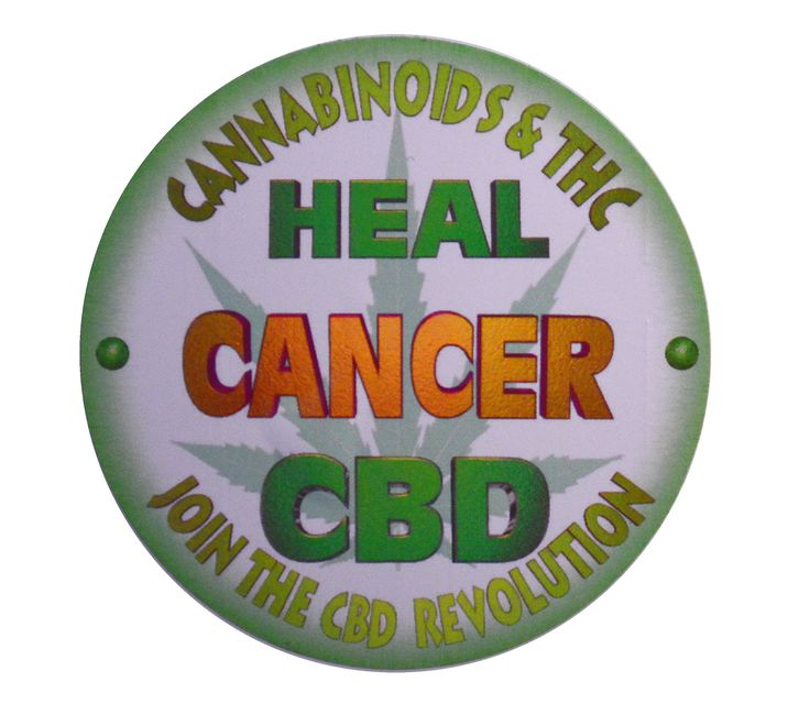 Amazon.com: Cannabinoids Heals Cancer 3in. UV Protected Vinyl Stickers $6.00 with free shipping from Amazon