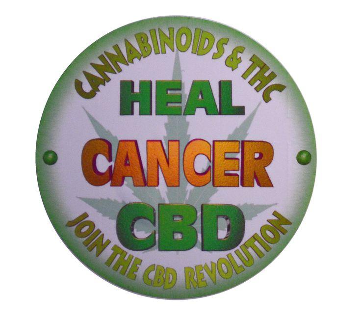 Valxart medical cannabis marijuana cbd heals cancer vinyl stickers 3 in