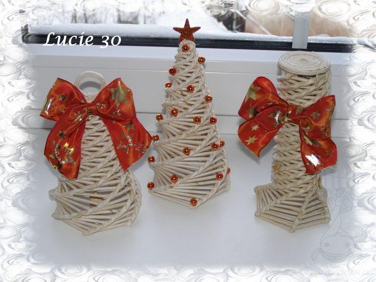 Papírové pletení - Baví vás pletení z papíru a ruční práce?