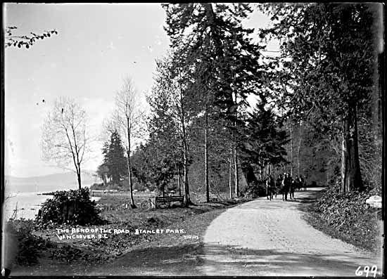 190-, road in Stanley Park