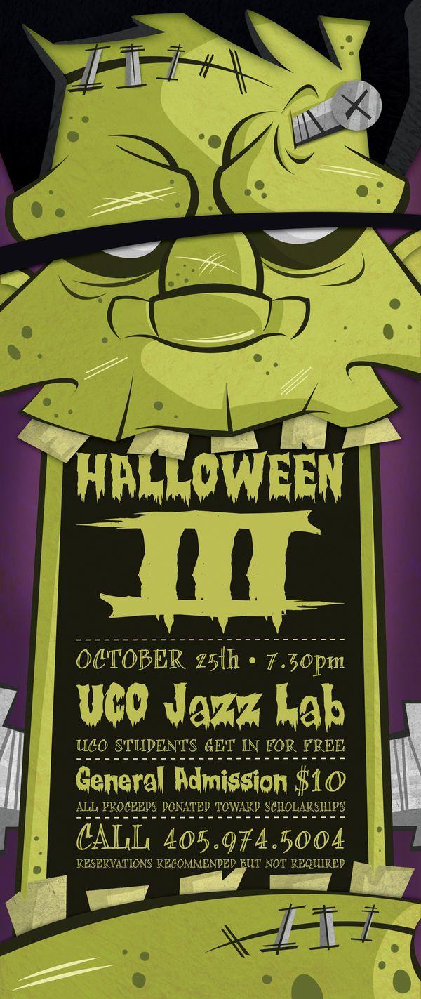 Halloween III by Kael Little, via Behance