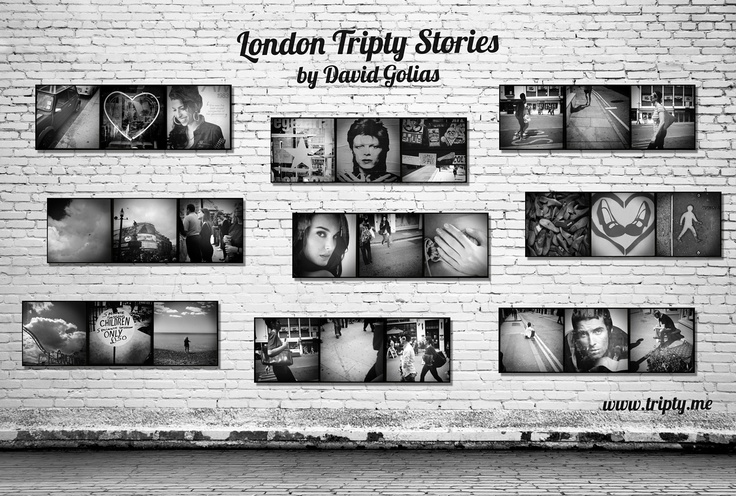TRIPTY STORIES WALL created with app Tripty for iPhone
