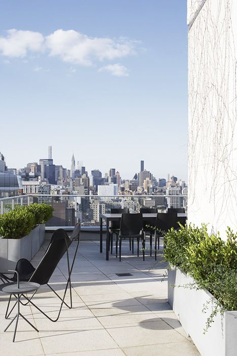 124 best images about magdalena keck projects on pinterest for Interior design rooftop terrace