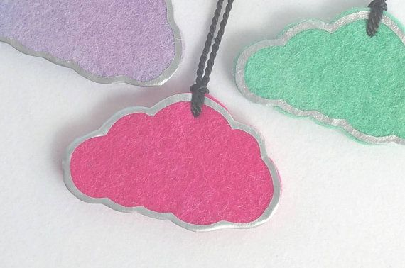 #makeforgood #becauseiamagirl #etsyau #handmade  Check out this item in my Etsy shop https://www.etsy.com/au/listing/253133616/cloud-with-a-silver-lining-necklace-in