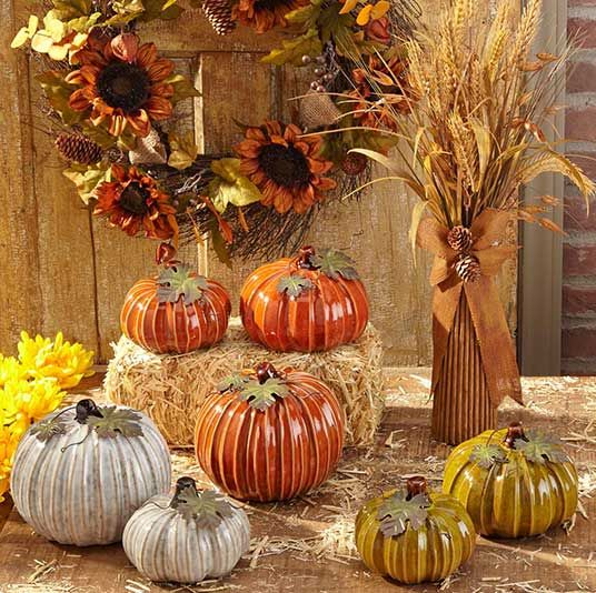 fall harvest decor from tuesday morning seektheunique tuesdaymorning pumpkins fall decor - Harvest Decor