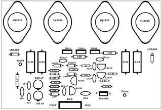 7 best KSA50 mk2 & KSA100 boards for Krell amplifier clone