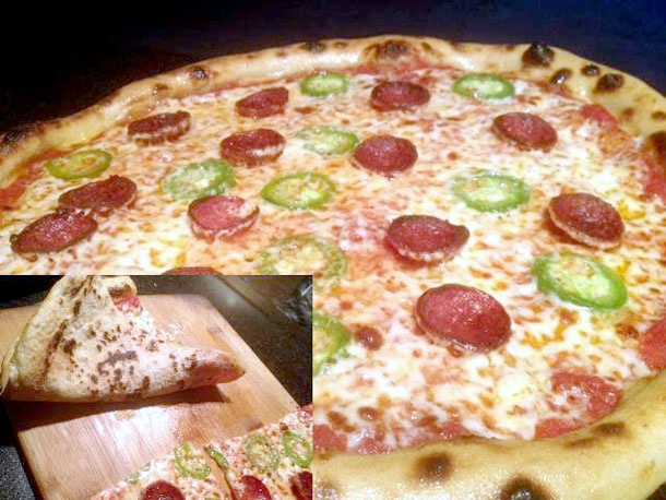 Nancy Silvertons Pizzeria Mozza recipe (I brought the hydration down ...