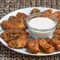 Parmesan Chicken Strips with Ranch Dressing - extra crispy and super delicious. Say goodbye to restaurant chicken strips.Parmesan Chicken Strips, Chicken Recipe, Ranch Dresses, Restaurants Chicken, Dressings, Chicken Strips Recipe Baking, Favorite Recipe, Food Recipe, Ranch Dressing