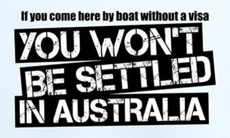 'By boat, no visa' ads to deter asylum seekers cost
