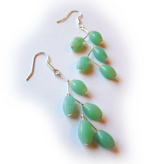 Earring TUTORIAL, DIY, Dangle Branch Earrings Beginner, Intermediate, Instructions, earring making tutorial, jewelry making tutorial, how to
