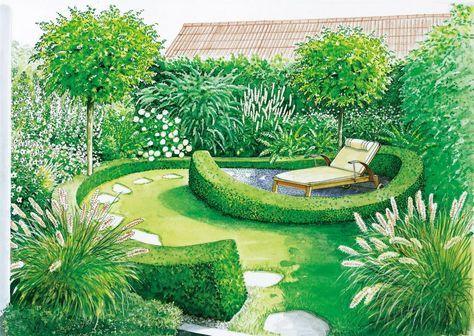 Vom Rasen zum kleinen Gartentraum