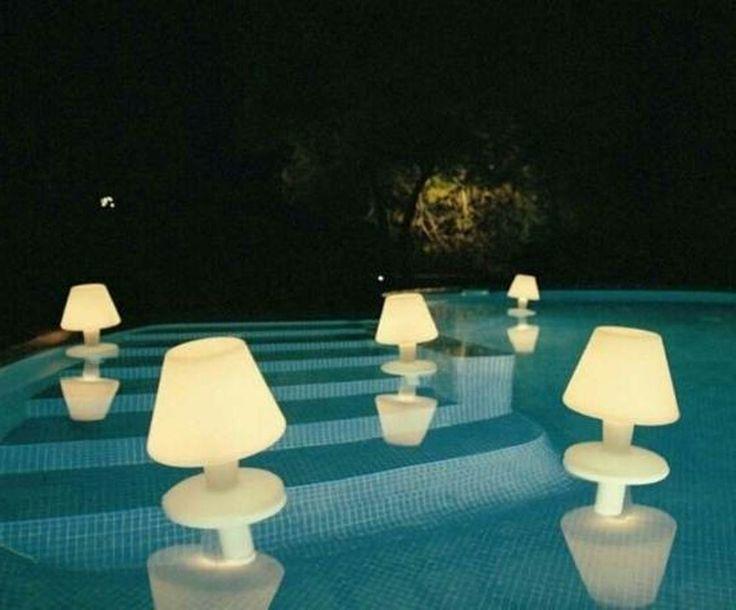 swimming pool lighting ideas. Interior Design Ideas. Home Design Ideas