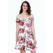 A good gift for girlfriend: Strappy Shoulders Skater Dress