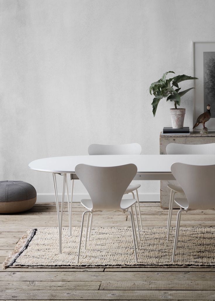 Fritz Hansen - Revitalised Table Series™. Designed by Piet Hein, Arne Jacobsen & Bruno Mathsson in 1968