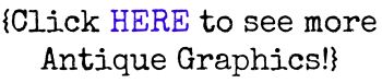 Bee Image Clip Art from McGuffey's Reader via KnickofTime.net