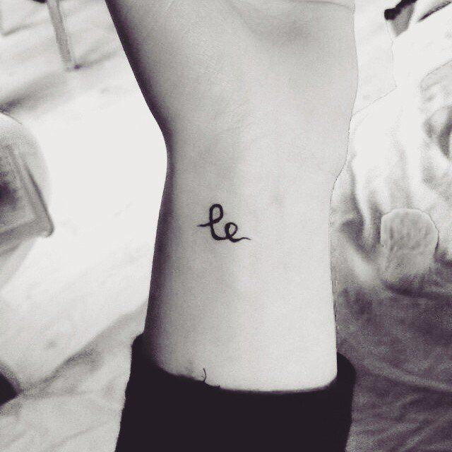 Swedish for 'smile.' Small Tattoo Ideas and Inspiration | POPSUGAR Beauty