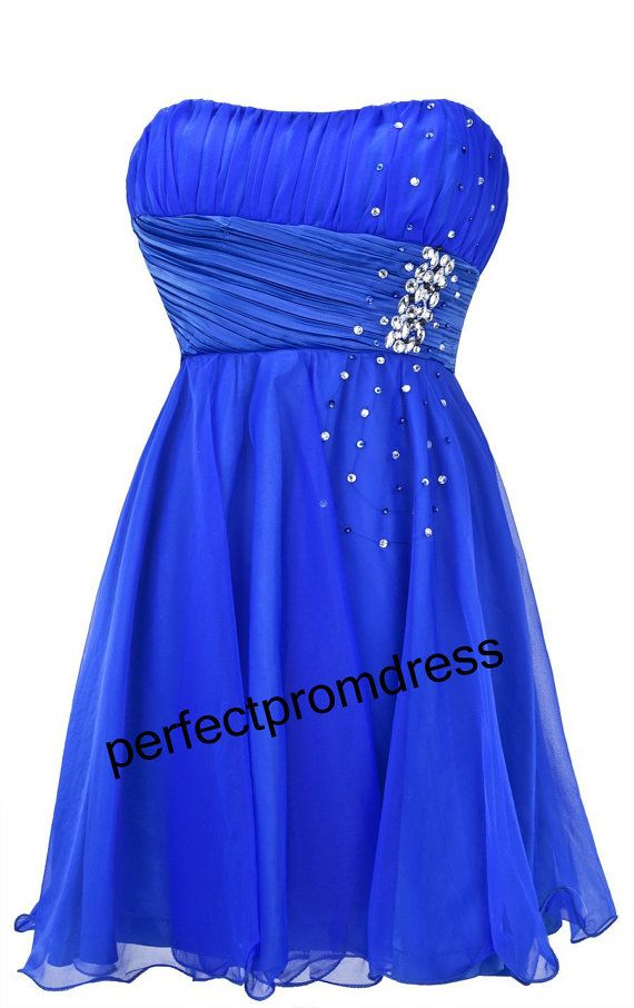 178 best images about royal blue bridesmaid dresses on for Royal blue short wedding dresses