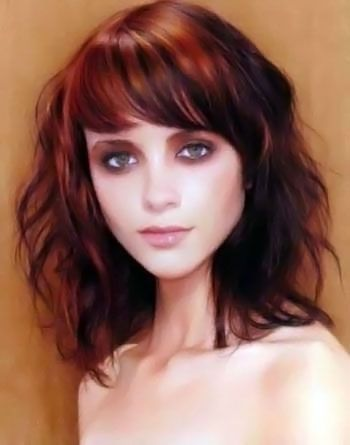 Miraculous 1000 Ideas About Medium Hairstyles With Bangs On Pinterest Short Hairstyles Gunalazisus