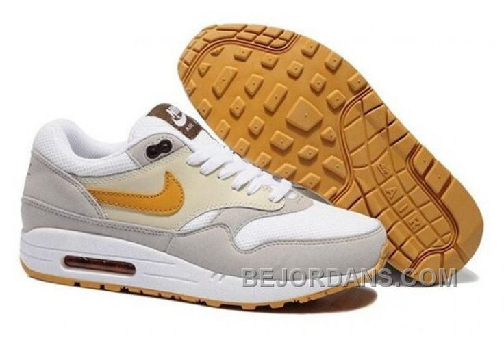 http://www.bejordans.com/free-shipping-6070-off-nike-air-max-1-mens-running-shoes-beige-white-grey-gold-best-selling-wsrrz.html FREE SHIPPING! 60%-70% OFF! NIKE AIR MAX 1 MENS RUNNING SHOES BEIGE WHITE GREY GOLD BEST SELLING WSRRZ Only $98.00 , Free Shipping!