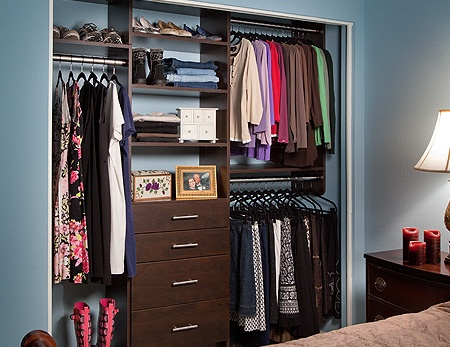 Small Bedroom Closet | Closet Ideas. Custom ClosetsHome OrganizationOrganizing  ...
