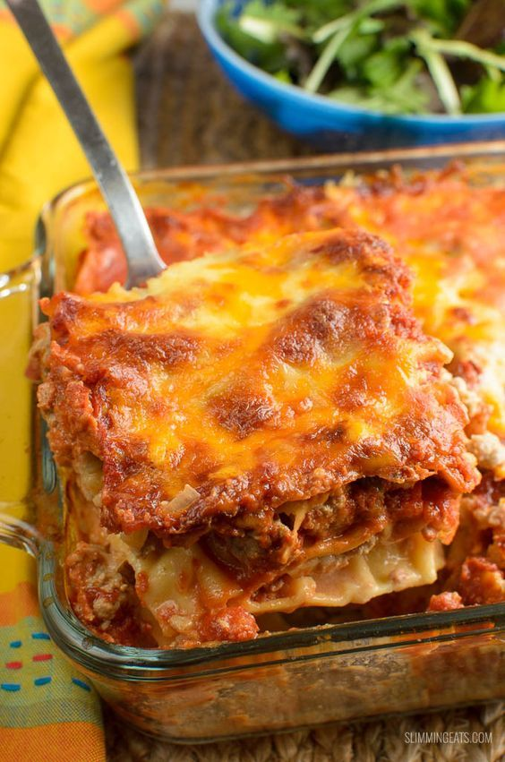 Slimming eats syn free spicy mexican chicken lasagne Slimming world recipes for 1 person