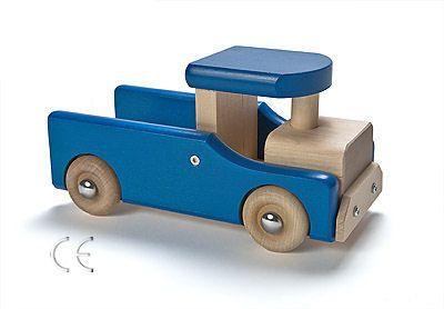 Wooden toy truck - Hant verkar Lyan