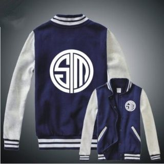 League of Legends jaquetas de baseball equipe TSM camisola do pescoço de grupo…