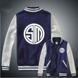 League of Legends jaquetas de baseball equipe TSM camisola do pescoço de grupo…