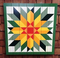 Sunflower Barn Quilt by Chela                                                                                                                                                                                 More