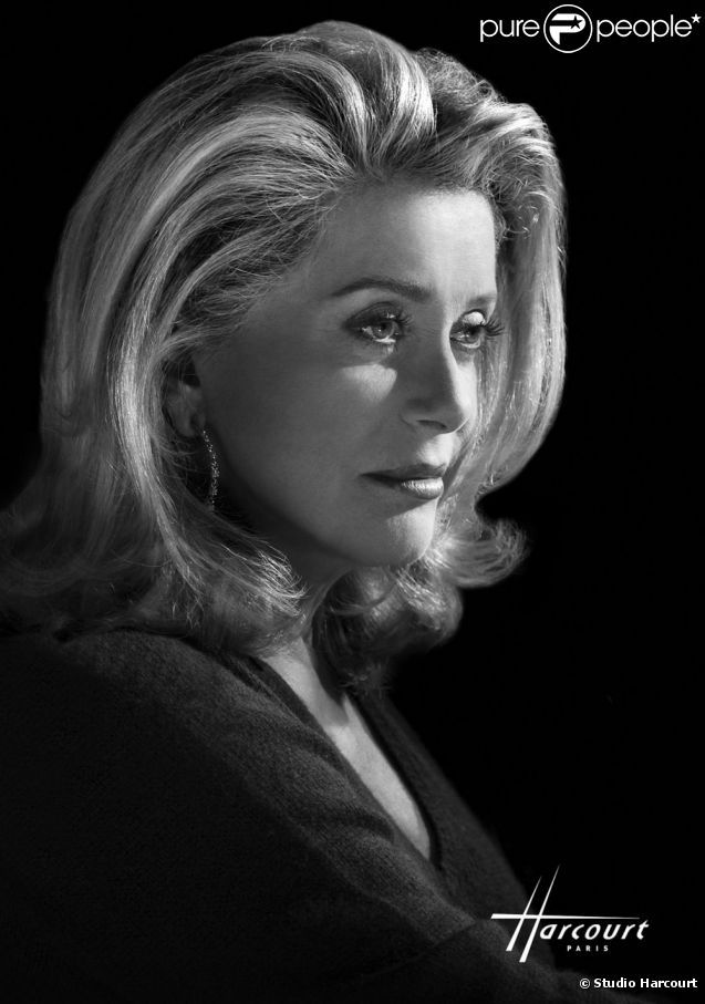 Catherine Deneuve par le Studio Harcourt Paris.