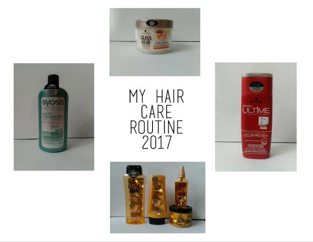 My Hair Care Routine 2017. If you don't speak czech, please use the translator on the right side. Thak you♥