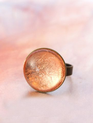 Copper Foil Ring by Cloud Nine Creative  www.cloudninecreative.co.nz
