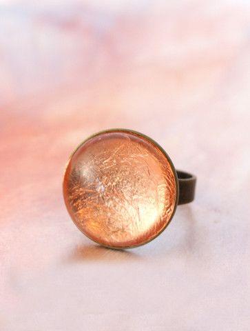 Copper Foil Ring by Cloud Nine Creative  www.cloudninecreative.co.nz