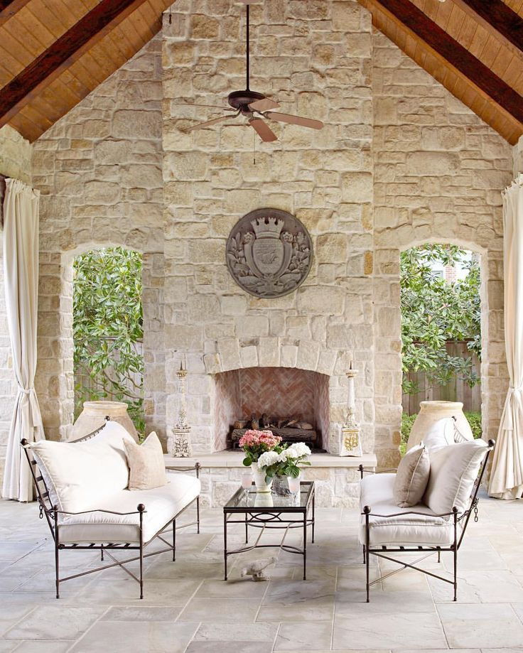 Beautiful outdoor living room.