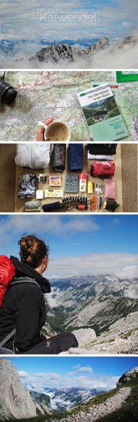 Hüttenwanderung Karwendel // Tipps&Tricks, eine Packliste + persönliche Erfahrungen