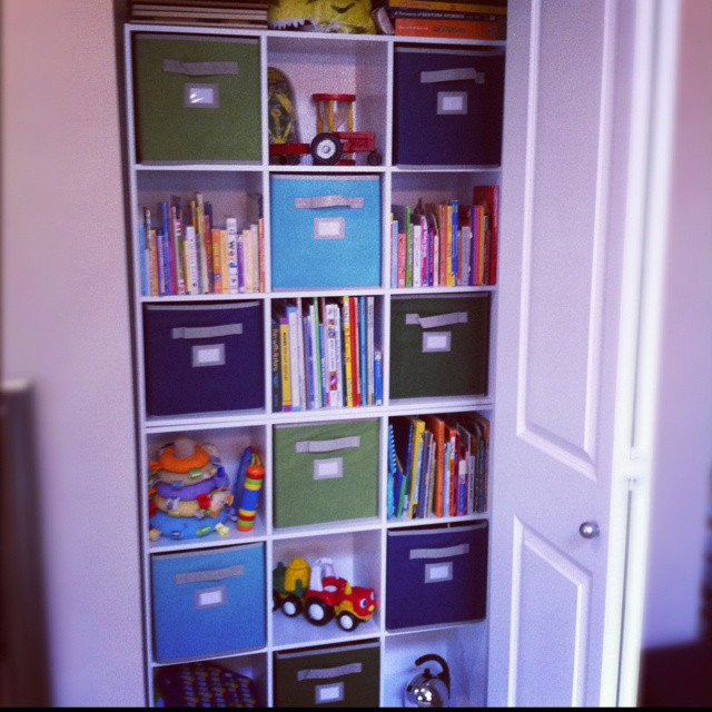11 best kids storage images on pinterest kids storage Closet toy storage ideas