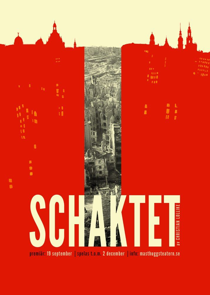 """""""The Shaft"""", theatre poster by Felicia Fortes"""