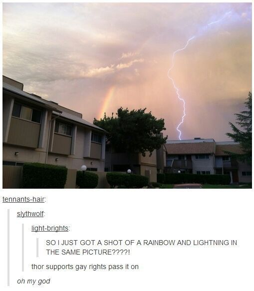 "This well-timed photo that clears something up about Thor. | 22 Pictures That Only Fans Of ""The Avengers"" Will Find Funny"