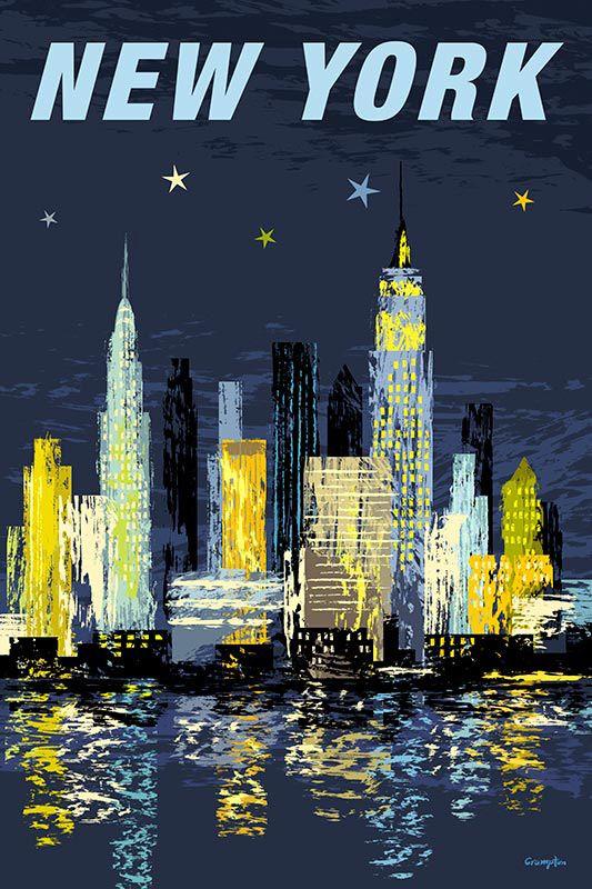 #michaelcrampton #meiklejohn #illustration #digital #stylised #newyork